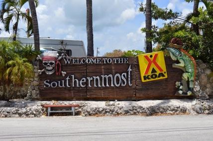 KOA Entrance Sign